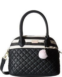 Luv Betsey Rosiee Quilted Heart Satchel