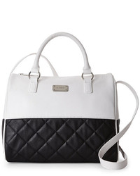 Nine West Too Quilt Color Block Satchel