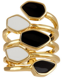 Ariella Collection Enamel Wrap Around Ring