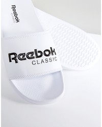Reebok Classic Sliders In White Bs7417