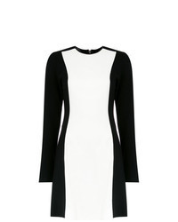 White and Black Shift Dress