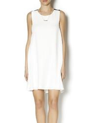 Luce C White Shift Dress