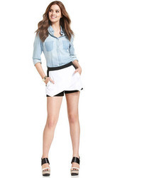 Jessica Simpson Madeline Colorblock Ponte Knit Skorts