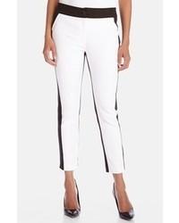 White and Black Skinny Pants