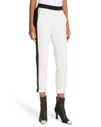 Tibi Anson Tuxedo Skinny Pants