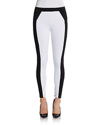 David lerner colorblock leggings medium 201538
