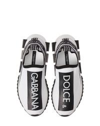 Dolce & Gabbana Sorrento Logo Slip On Sneaker