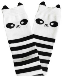 White and Black Socks