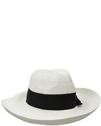 Physician Endorsed Adriana Toyo Straw Fedora Packable Sun Hat Rated Upf 50 For Max Sun Protection