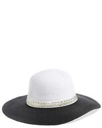 BCBGeneration Pretty Pearl Floppy Straw Hat