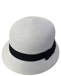 PDS Online Straw Beach Cap With Black Band Hat Great Gift