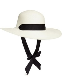 Sensi Studio Lady Majorca Adjustable Ribbon Toquilla Straw Hat