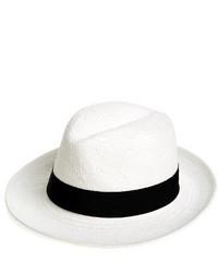 Straw panama hat beige medium 3666493