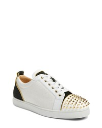 Christian Louboutin Glitter Low Top Sneaker