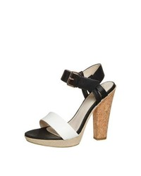 Zign high heeled sandals black medium 280923