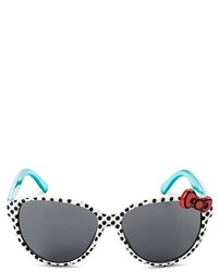 Hello Kitty Girls Oval Sunglasses White One Size