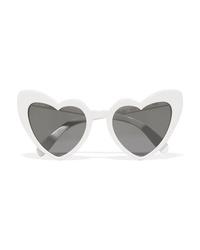 Saint Laurent Loulou Heart Shaped Acetate Sunglasses