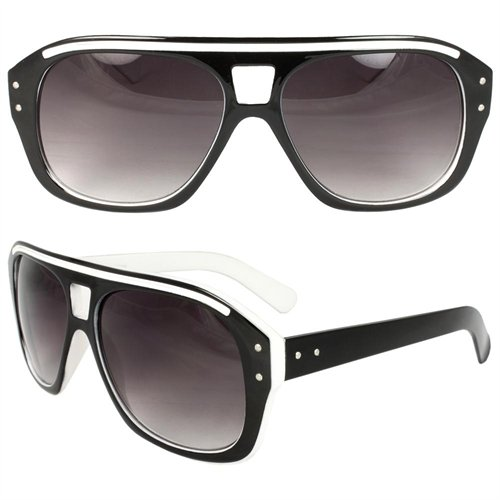 Vogue Eyeglass Frames Black And White : MLC Eyewear Shield Fashion Sunglasses Black White Frame ...