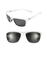 Nike Swag 60mm Polarized Sunglasses White One Size