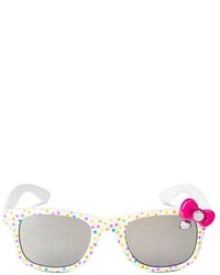 Hello Kitty Toddler Girls Oval Sunglasses White One Size