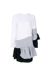 Ioana Ciolacu Colour Block Frill Dress