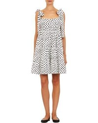 White and black swing dress original 10138714