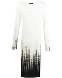 Ann Demeulemeester Long Sleeved Maxi T Shirt