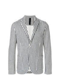 Harris Wharf London Unstructured Striped Blazer