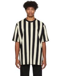 Kenzo Striped Print Fashion T Shirt