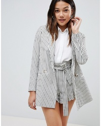 ASOS DESIGN Blazer In Casual Stripe Co Ord
