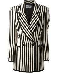 Gianfranco ferre vintage striped blazer medium 25514