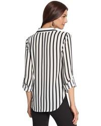 Chico's Dreama Stripe Dallas Ii Top | Where to buy & how ...