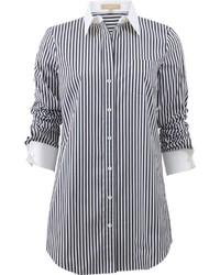 Michael Kors Michl Kors Striped French Cuff Shirt