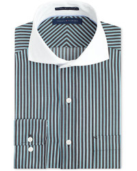 Tommy Hilfiger Non Iron Striped Dress Shirt