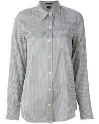 Theory Simara Striped Shirt