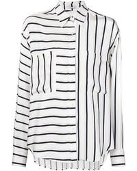 Tome Striped Panel Shirt