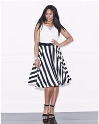 Lovedrobe stripe skirt prom dress medium 493393
