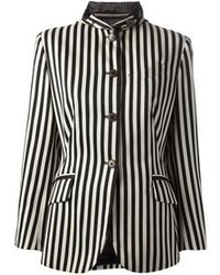 Jean paul gaultier vintage striped jockey jacket medium 110886