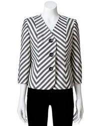 Striped jacket medium 110890