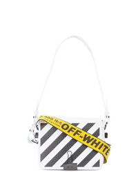 Off-White Striped Logo Crossbody Bag