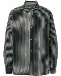 Casual striped shirt medium 7009646