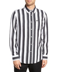 Obey Echo Striped Sport Shirt