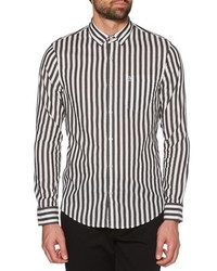 Original Penguin Slim Fit Striped Sport Shirt