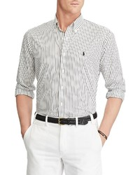 Polo Ralph Lauren Striped Oxford Long Sleeve Woven Shirt