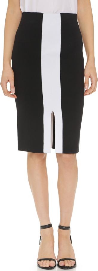542fbbcab8 5th & Mercer Colorblock Pencil Skirt, $125 | shopbop.com | Lookastic.com