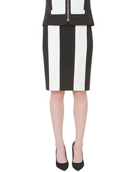 New york striped pencil skirt medium 134441