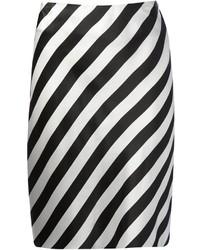 Ann Demeulemeester Striped Skirt