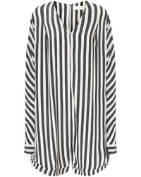 Klen Navy Stripe Relaxed Playsuit