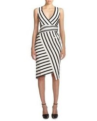 Jessica mixed stripe sheath medium 299177
