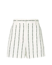 MSGM Logo Stripe Shorts